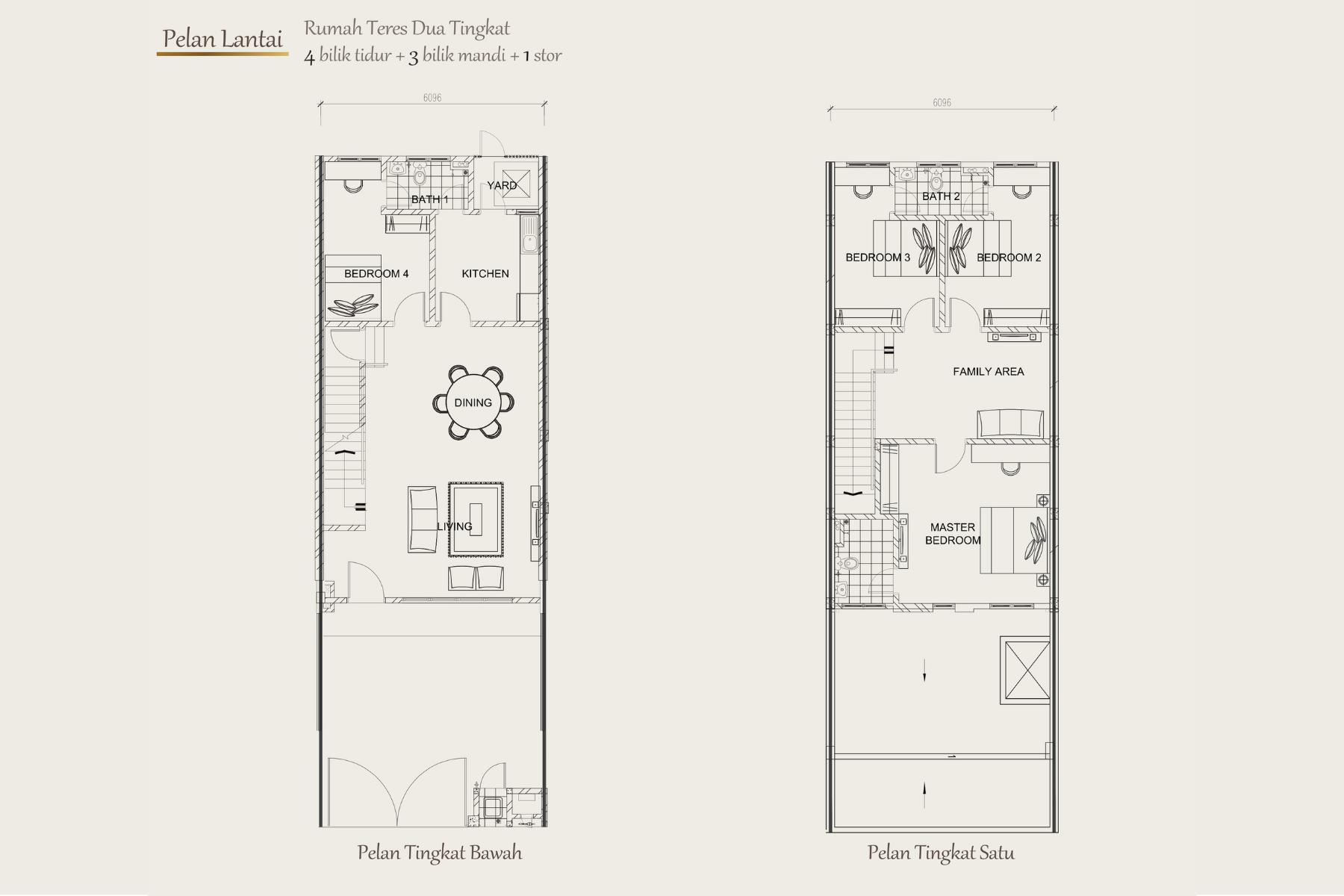 Seruni Floor Plan